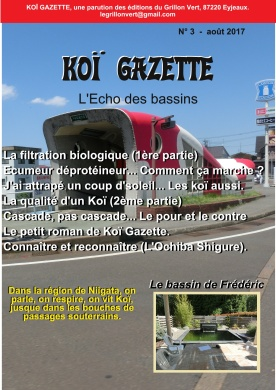 Koï Gazette N° 3.Couverture-001