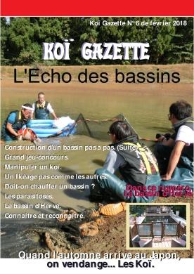 Koï Gazette N° 6. Couverture-001