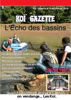 Koï Gazette N° 6. Couverture-001