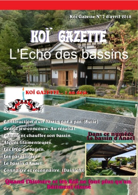 Koï Gazette N° 7. Couverture-001