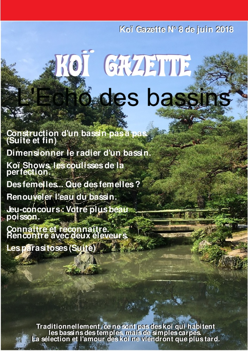 Koï Gazette N° 8.Couverture-001