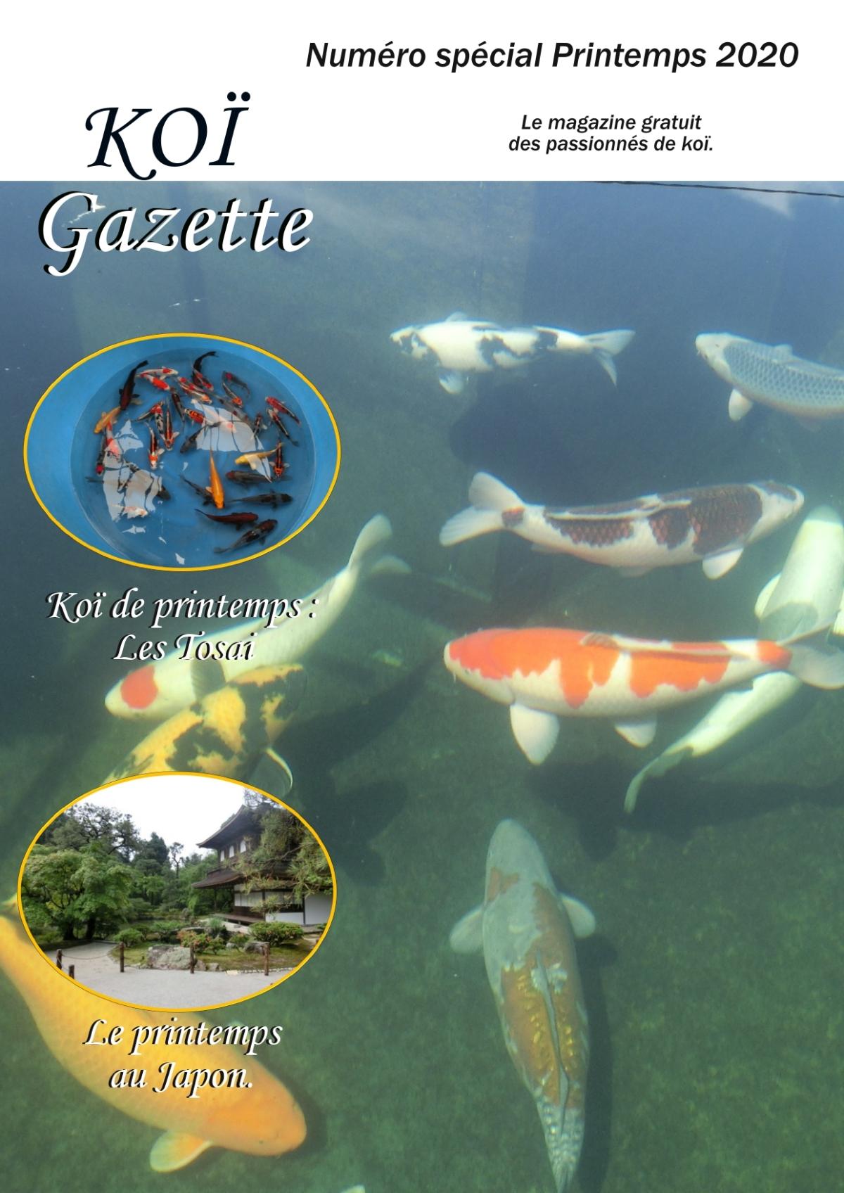 Koï Gazette Spécial printemps2020